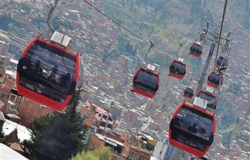 Teleférico La Paz-El Alto entre los Récord Guinness