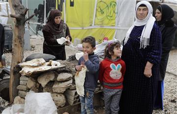 Aterradores gritos pidiendo ayuda de sirios, que huyen de los bombardeos turcos