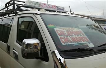 El Alto: Reportan nuevo caso de abuso sexual en un minibús