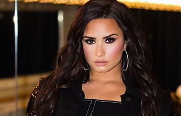 Demi Lovato en lencería puso a arder las redes