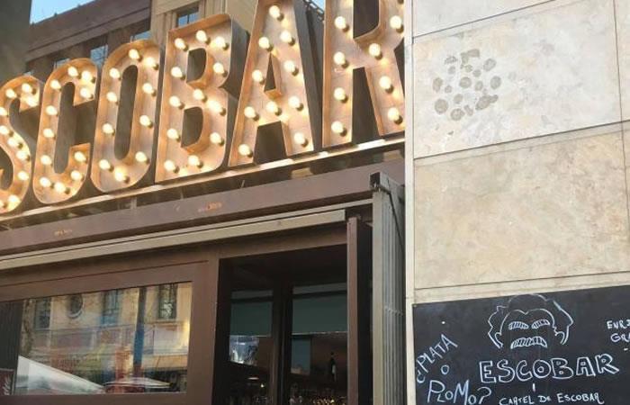 Popeye cheeseburger, bar que causa indignación por hacer tributo a Pablo Escobar