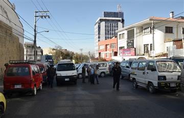 La Paz: Choferes bloquean la ciudad en rechazo a más Pumakataris