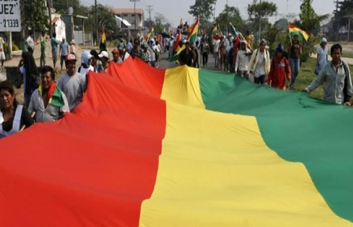 Bolivia elaborará bandera de 70 km en apoyo a demanda marítima