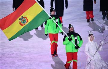 El boliviano Simon Breitfuss, descalificado de Pyeongchang