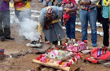 Martes de Challa: Así fue el agradecimiento a la Pachamama