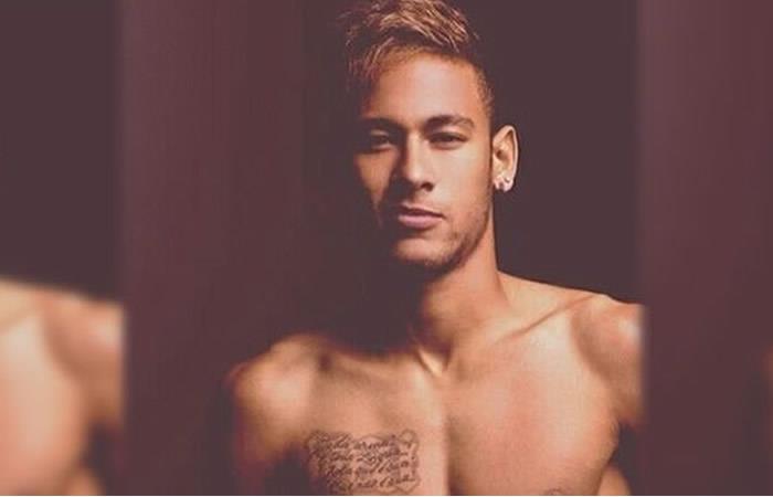 Neymar y el infartante desnudo que recorre las redes sociales