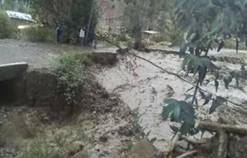 Alcalde de Palca pide ayuda a La Paz ante desborde de río