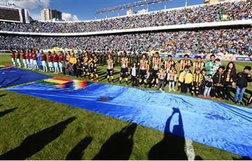 Bolívar y The Strongest se suman al 'banderazo nacional'
