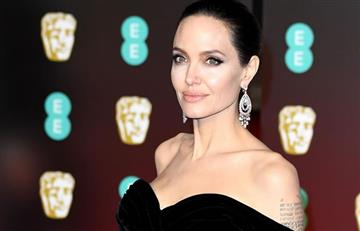 Bafta 2018: La extrema delgadez de Angelina Jolie asombra durante la ceremonia
