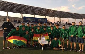 Bolivia sub-16 se consagra campeón en torneo internacional