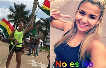 Los famosos bolivianos que también salieron a manifestarse por el 21F
