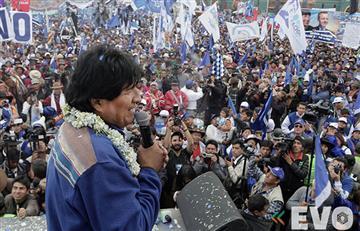 Bolivianos en Argentina realizarán masiva concentración a favor de Evo