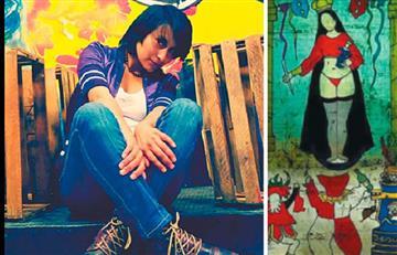 Bolivia: Artista que pintó una virgen en tanga recibe amenazas de violación