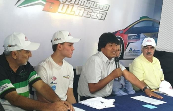 Marco Bulacia representará a Bolivia en mundial de automovilismo