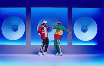 Baile de Nicky Jam y J Balvin pone a bailar a más de uno
