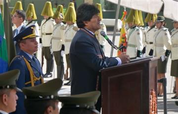 Bolivia tiene ahora una policía con dignidad e identidad: Morales