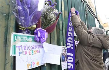El fútbol italiano está de luto y se suspende por la muerte de Davide Astori