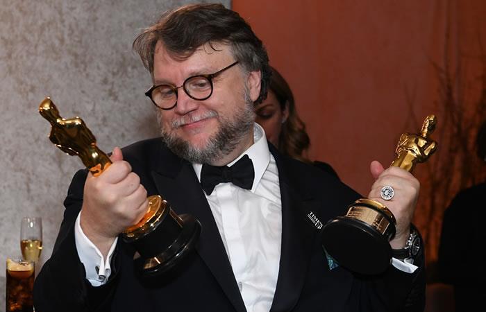 El curioso momento de Guillermo del Toro en los Premios Oscar