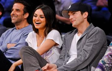 Ashton Kutcher y Mila Kunis no dejarán herencia a sus hijos