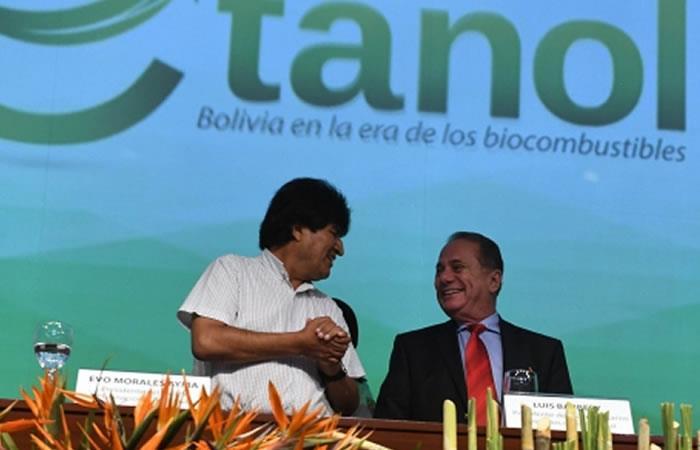 Acuerdo para impulsar el etanol favorecerá a todos los bolivianos
