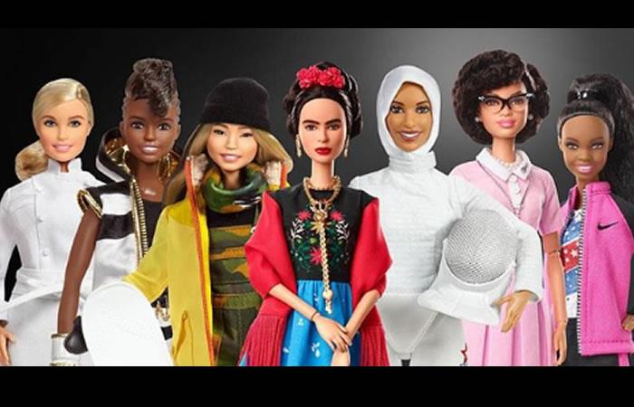 Día de la Mujer: Barbie lanza colección inspirada en mujeres luchadoras