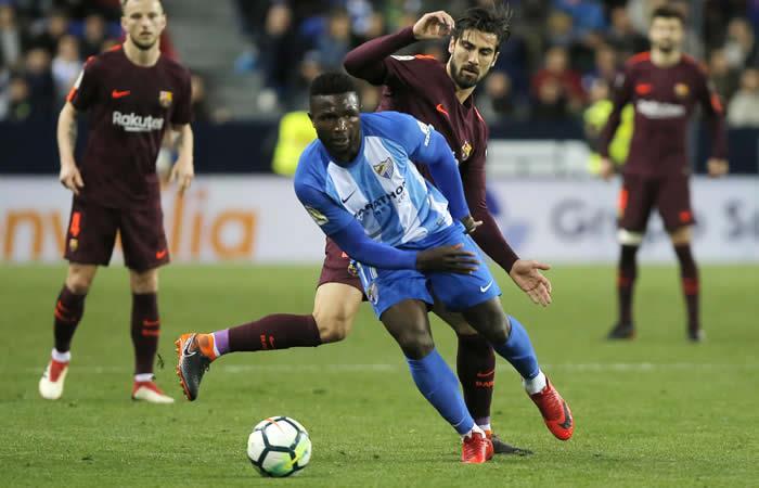 Suárez y Coutinho hunden al Málaga