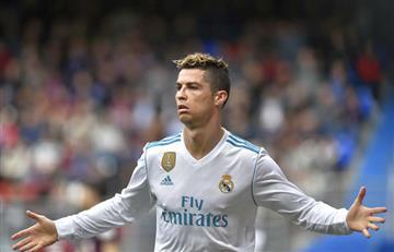 Con dos goles de Cristiano Ronaldo, el Real Madrid venció al Eibar