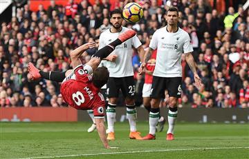El Mánchester United se impuso al Liverpool (2-1)