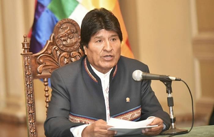 Evo pide unidad a los bolivianos en la fase oral de la demanda marítima
