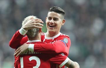 James en los cuartos de final de la Champions con el Bayern