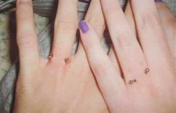 Instagram: Piercings, la nueva tendencia en anillos para matrimonio