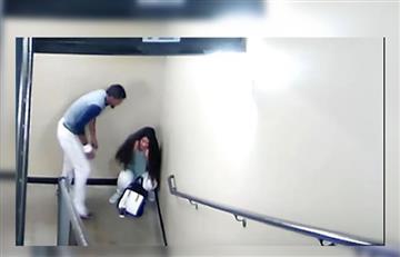 Video: Beisbolista venezolano golpea brutalmente a su novia