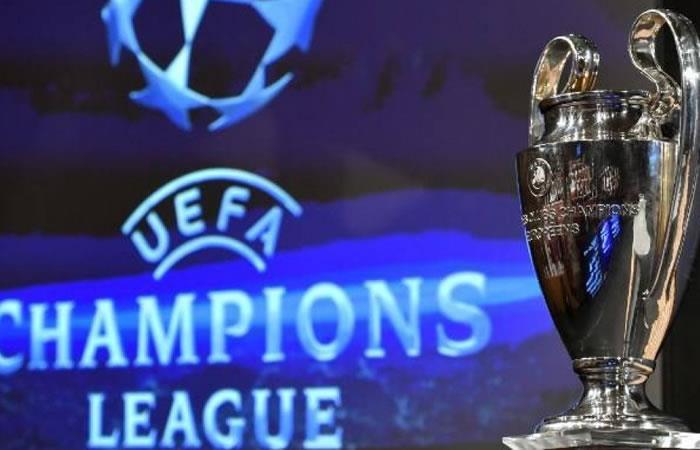 Sorteo de la Champions League. Foto: AFP