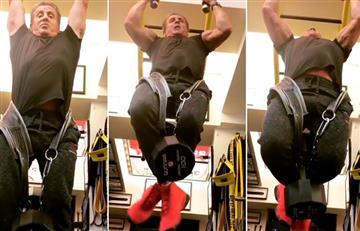 Sylvester Stallone y su entrenamiento a los 71 años para volver a convertirse en Rocky