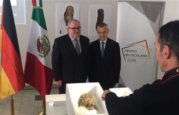 México reconquista dos piezas prehispánicas de Alemania, luego de 10 años de disputas