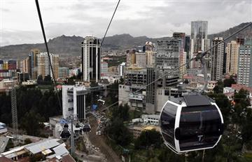 Bolivia amplía su teleférico, uno de los más largos del mundo