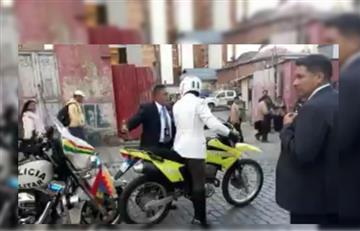 La Paz: Tensión entre militar y policía en pleno desfile