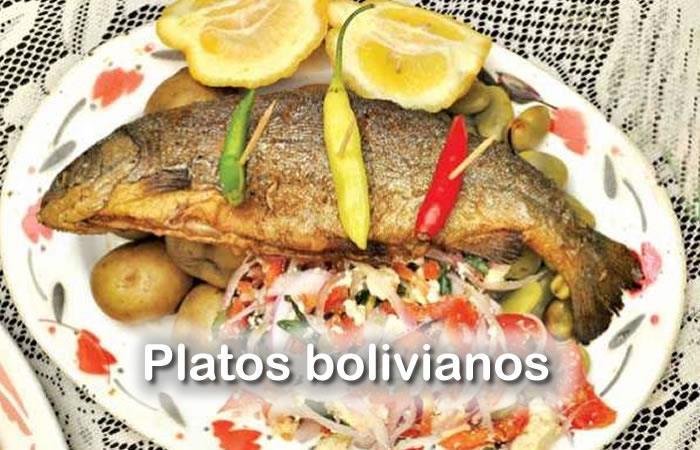 Platos típicos bolivianos