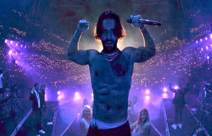 Maluma se luce en su primer concierto en el Madison Square Garden
