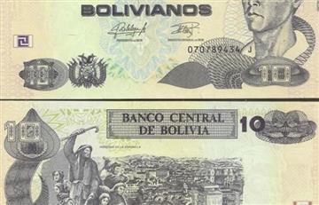 Nuevo billete de 10 bolivianos comenzará a circular en esta fecha