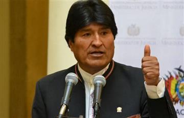 """Evo Morales: """"Bolivia ya puede hablar del mar de tú a tú con Chile"""""""
