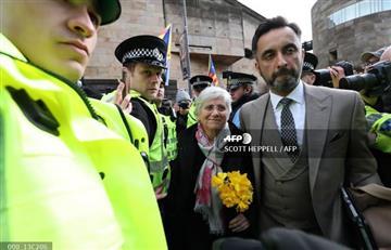 La independentista catalana Ponsatí quedó en libertad condicional en Escocia