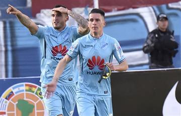Con goleada, Bolívar se pone a tono de Libertadores