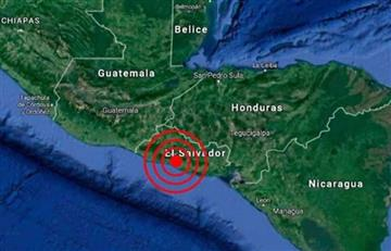 El Salvador: Sismo de 6 grados sacude el país sin dejar daños