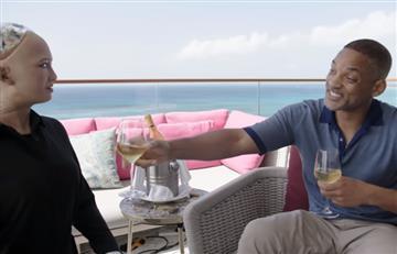 Will Smith y su fracaso al intentar seducir a la humanoide Sophia