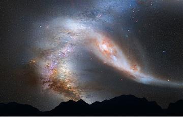 Nuestra Vía Láctea se está volviendo cada vez más grande