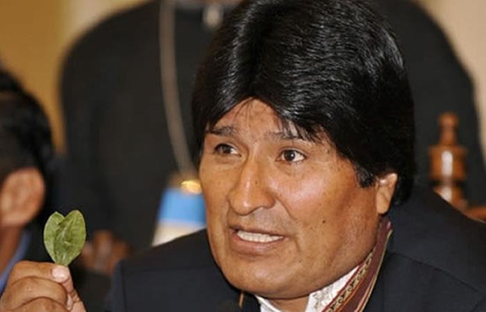 Evo Morales lamentó que la hoja de coca no estuviera en los nuevos billetes