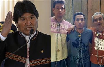 Evo Morales condenó el asesinato de los periodistas
