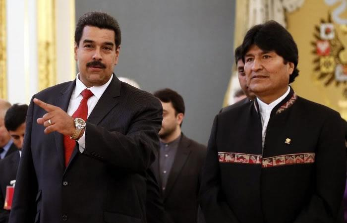 Evo Morales se reúne con Nicolás Maduro en Caracas