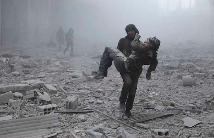 Ataque a Siria: Rusia pide dialogar con Estados Unidos